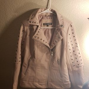 NWT Steve Madden Faux Leather Moto Jacket M
